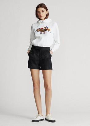 Ralph Lauren Pinstripe Linen Short