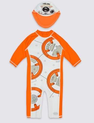 Marks and Spencer 2 Piece Star Wars Swim Outfit (0-5 Years)
