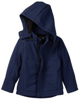 Urban Republic Soft Shell Mixed Media Jacket (Toddler Boys)
