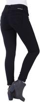 Amethyst Jeans Black Triple-Button High-Waist Jeggings