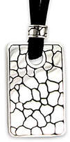 """Novica Artisan Crafted Sterling """"Stone Age"""" Pendant w/Cord"""