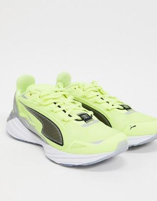 Puma Ultraride sneakers in neon