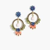 J.Crew Neon pop statement earrings