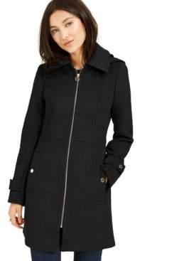 Michael Kors Michael Hooded Coat, Created for Macy's