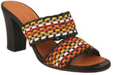 Chie Mihara Viky Woven Leather High-Heel Sandals