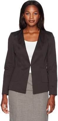 Ellen Tracy Women's Angle Pocket Blazer