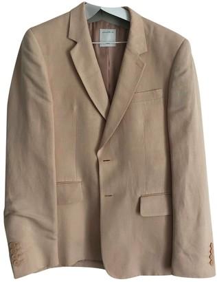 Sandro Spring Summer 2019 Beige Linen Suits