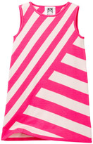 Milly Minis Stripe Knit A-Line Dress (Toddler & Little Girls)
