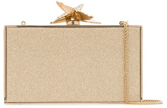 Sophia Webster Clara glitter clutch bag