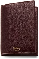 Mulberry Passport Cover Oxblood Natural Grain Leather