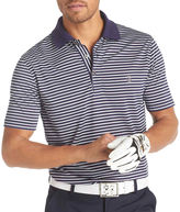 Izod Golf Short-Sleeve Feeder Stripe Polo