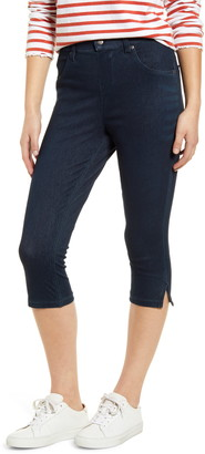 Hue Ultrasoft High Waist Capri Denim Leggings