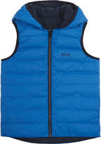 BOSS Quilted down reversible gilet 4-16 years