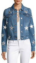 Bagatelle Star Embroidered Denim Jacket