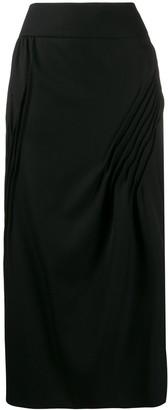 Nina Ricci pleated details skirt