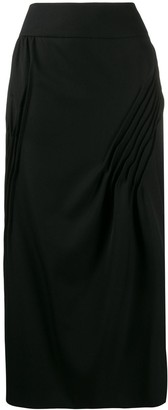 Nina Ricci Pleated Details Skirt
