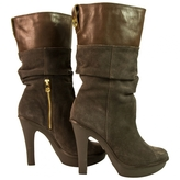 MICHAEL Michael Kors Grey Leather Boots