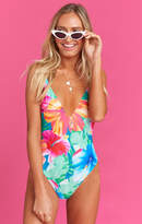 MUMU Siesta Key One Piece ~ Malibu Barbie