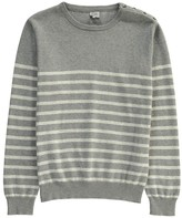 Little Karl Marc John Matthieu Striped Jumper