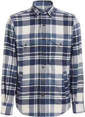 Ralph Lauren Purple Label Leo Plaid Shirt