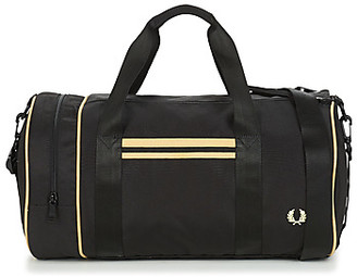 Fred Perry TWIN TIPPED BARREL BAG men's Sports bag in Black