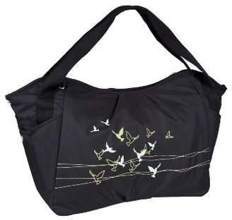 Lassig LTWB10172 Twin Pocket Casual Twin Bag Flock of Birds, Black