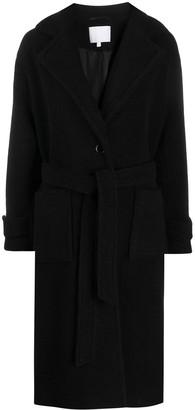 Lala Berlin Textured Belted Coat
