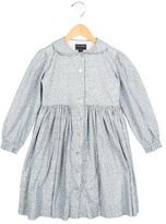 Oscar de la Renta Girls' Printed A-Line Dress