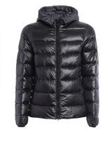 Fay Double Front Padded Hooded Jacket