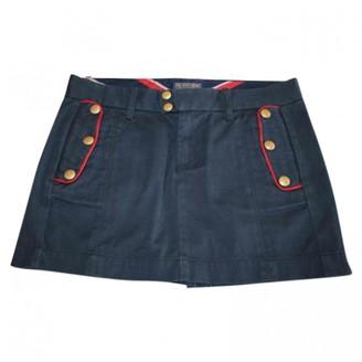 Polo Ralph Lauren Blue Cotton Skirt for Women
