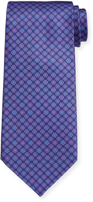 Stefano Ricci Men's Large Medallion Silk Tie