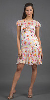 Floral Printed Chiffon Dresses by Anna Sui