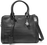 Alexander McQueen Textured-leather shoulder bag
