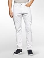 Calvin Klein Slim Fit Slub Dobby Cotton Pants