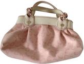 Celine Pink Cotton Handbag