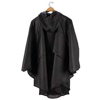 Enesco Women's Izzy and Oliver Water-Resistant Hooded Poncho Coat