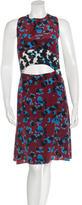 Tanya Taylor Silk Splatter Print Dress w/ Tags