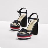 Tommy Hilfiger Leather Sandal Gigi Hadid