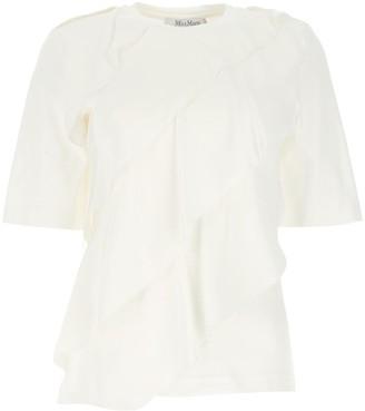 Max Mara Ruffled T-Shirt
