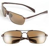 Maui Jim Men's 'Maliko Gulch - Polarizedplus2' 65Mm Sunglasses - Gunmetal