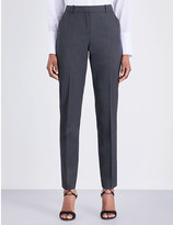 The Kooples Tapered stretch-wool trousers
