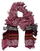 Burberry Wool Jacquard Scarf