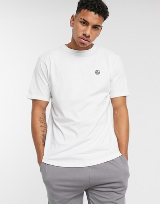 Soul Star organic lounge t-shirt in white
