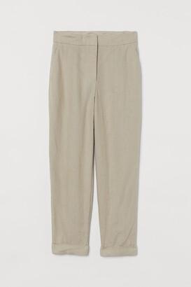 H&M Linen suit trousers