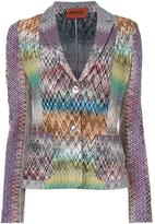 Missoni two button blazer - women - Nylon/Wool - 44