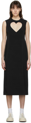 Ashley Williams Black Cut-Out Heart Dress