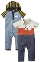 Tea Collection Little Garaje Guy Set (Baby)-Multicolor-0-3 Months