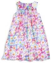 Us Angels Girls' Daisy Print Dress - Sizes 2-6X