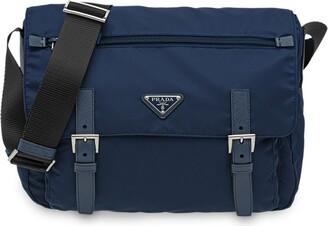 Prada Grosgrain Strap Shoulder Bag