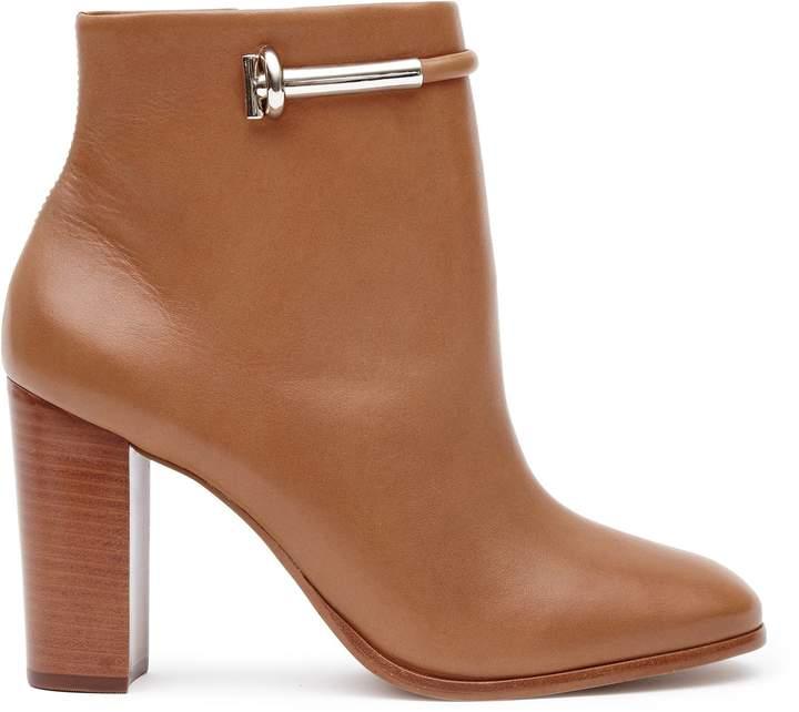Reiss Zoe Metal-Detail Boots